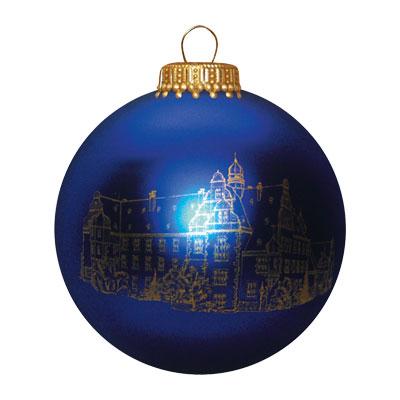 Bedrukte Glazen Kerstbal 7 Cm Relatiegeschenk Bedrukken