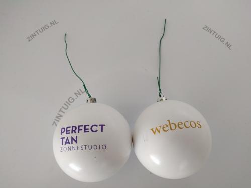 ᐅ Kerstballen Bedrukken Voor Een Lage Prijs Kerstballenman Nl
